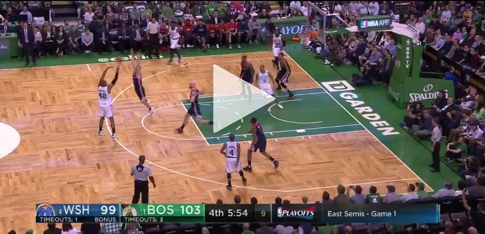 Replay : Le festival à 3-points des Celtics contre Washington