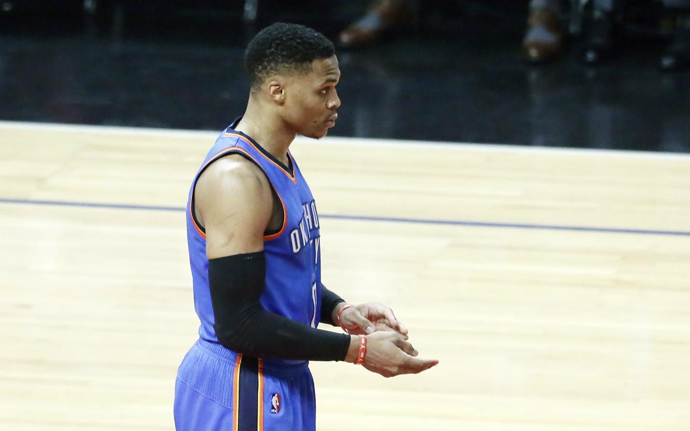 Le Thunder espère resigner Russell Westbrook cet été