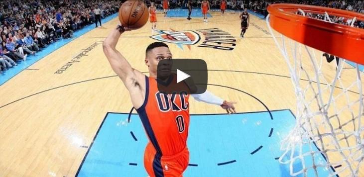Explosif : Les plus beaux dunks de la saison de Russell Westbrook