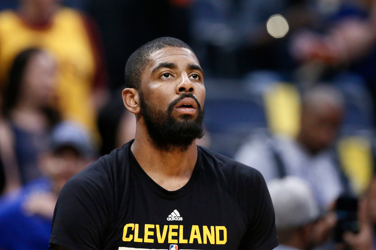Sinon les playoffs de Kyrie Irving, on en parle ?