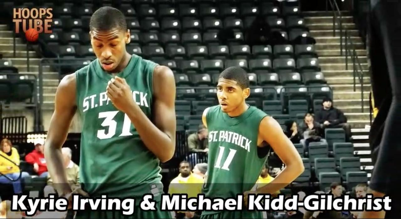 Ces joueurs NBA étants coéquipiers à l'époque du lycée