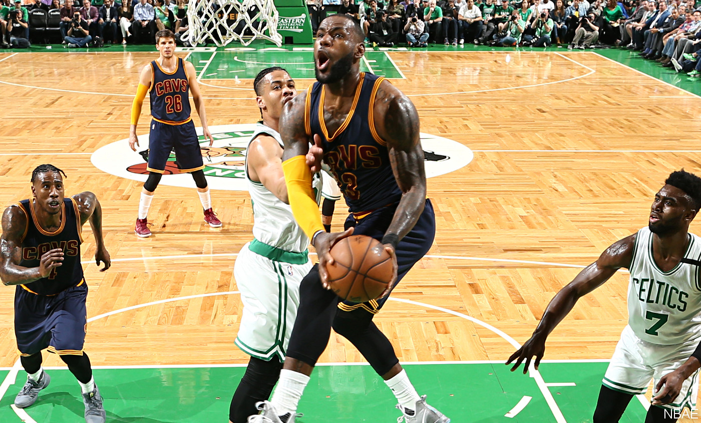 LeBron James, dominateur comme un MVP