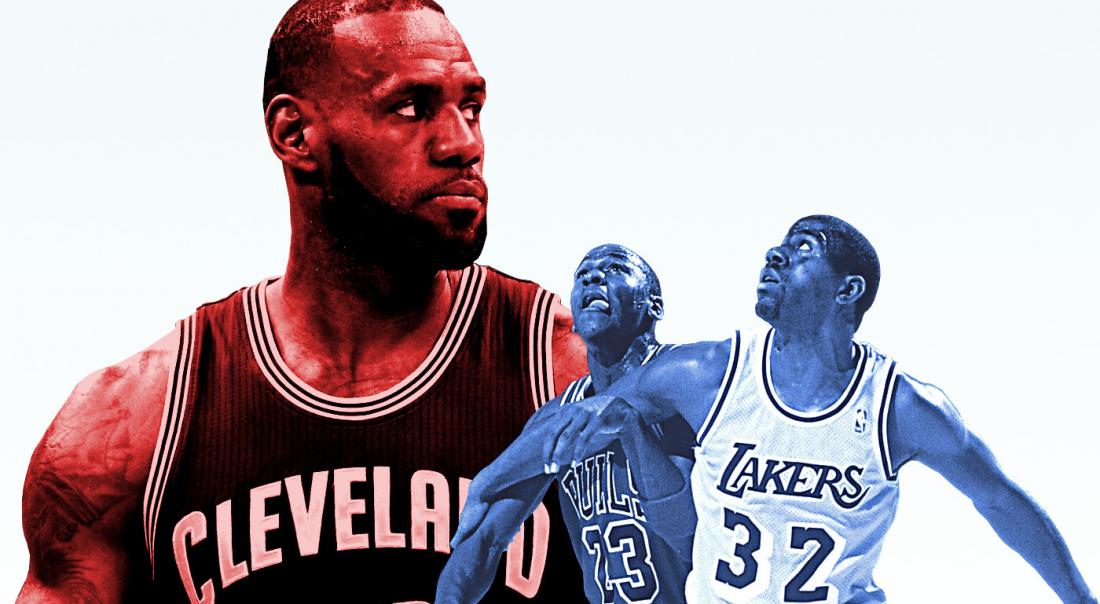 LeBron James est-il le meilleur joueur de l'histoire des playoffs ?