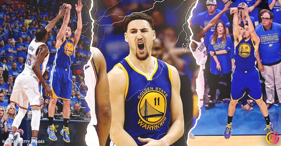 Quand Klay Thompson sauvait les Warriors en tapant un record NBA