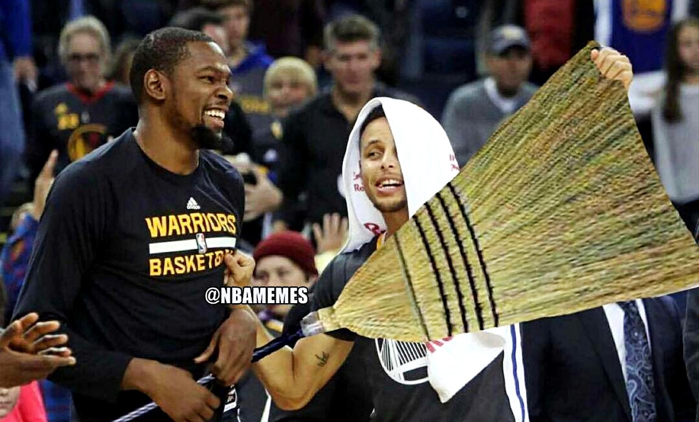Les meilleurs memes du sweep des Spurs