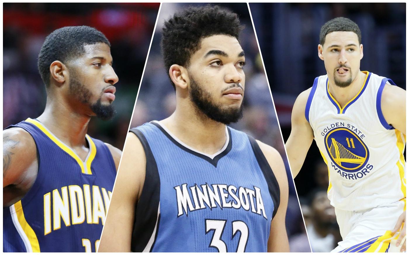 PG, KAT, Klay : Les snobés des All-NBA Teams