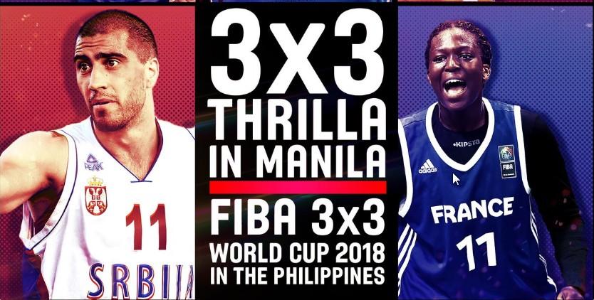 Les Philippines organiseront la Coupe du Monde 3×3 2018