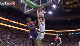 Kelly Olynyk postule pour la suite de White Men Can't Jump