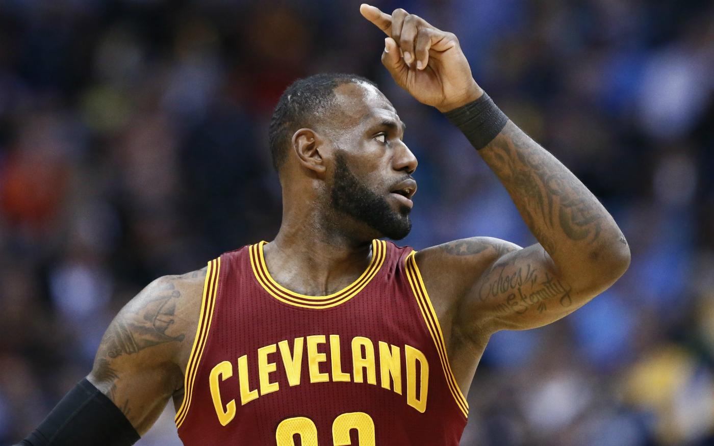 LeBron James : «J'ai mis plus de dunks que je n'en ai manqué»