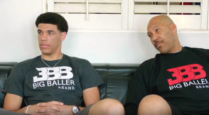 Lonzo Ball a gâté ses parents à Noël