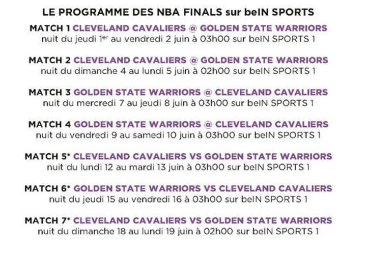 Jacques Monclar Finales NBA programme