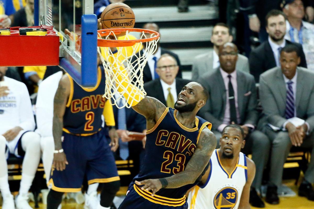 Malgré la défaite, LeBron a vu des progrès dans le jeu de Cleveland