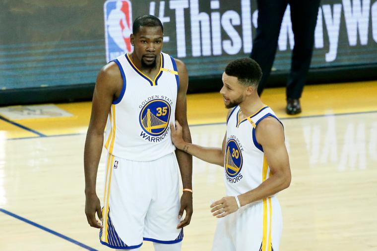 Stephen Curry et Kevin Durant n'ont jamais été aussi bons ensembles