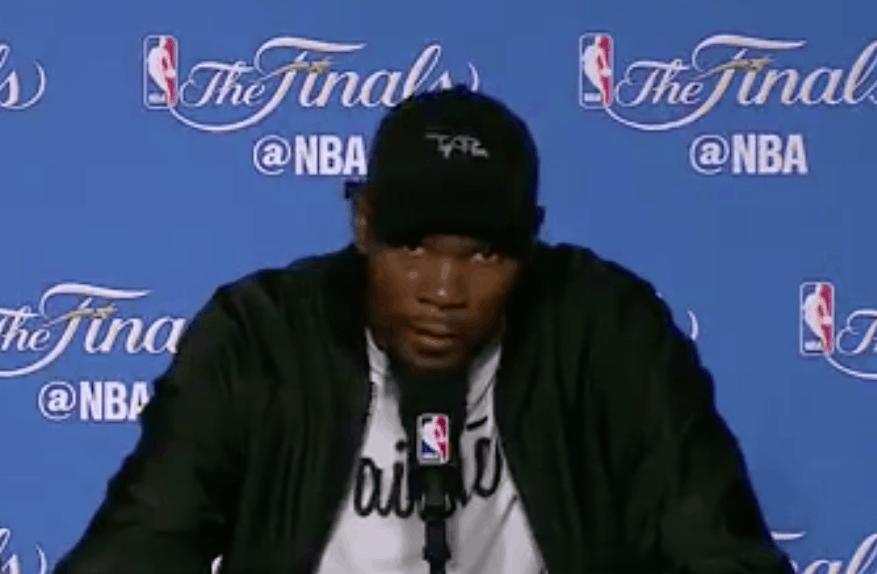 Kevin Durant assume son accrochage avec LeBron James