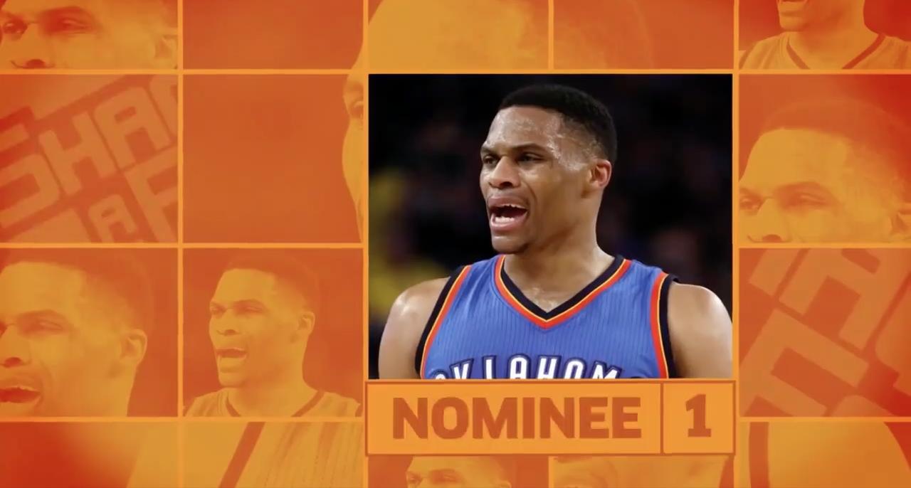 Top 5 du Shaqtin' A Fool : Russell Westbrook MVP incontesté