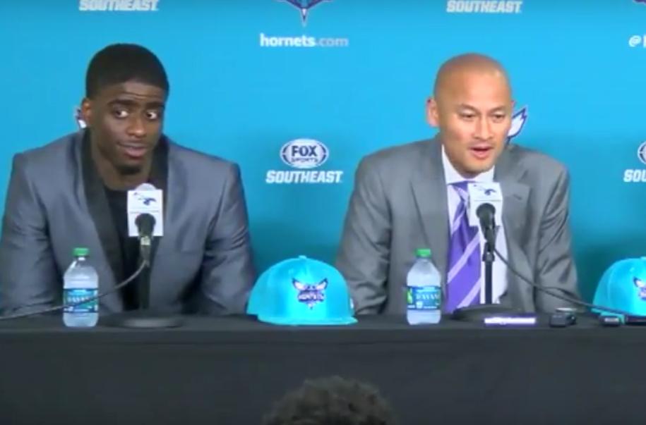 Fail : le GM des Charlotte Hornets annonce la Draft de Dwyane Wade !