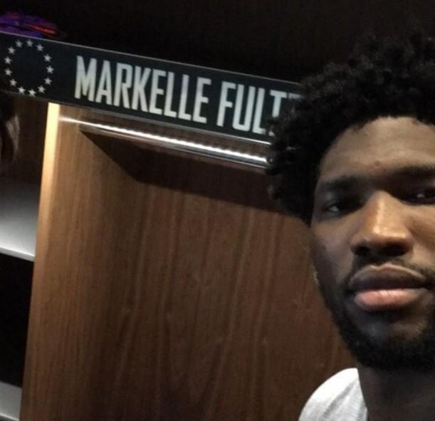 Joel Embiid et les Sixers ont déjà réservé une place à Markelle Fultz