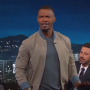 Jamie Foxx LeBron James Jimmy Kimmel