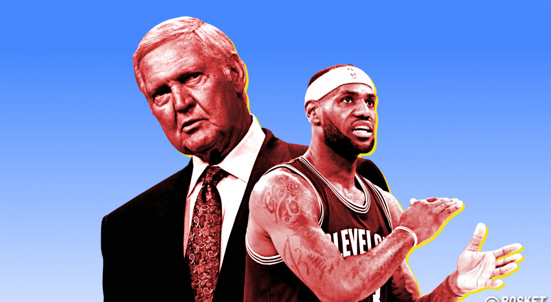 L'ultime mission de Jerry West : ramener LeBron James à LA
