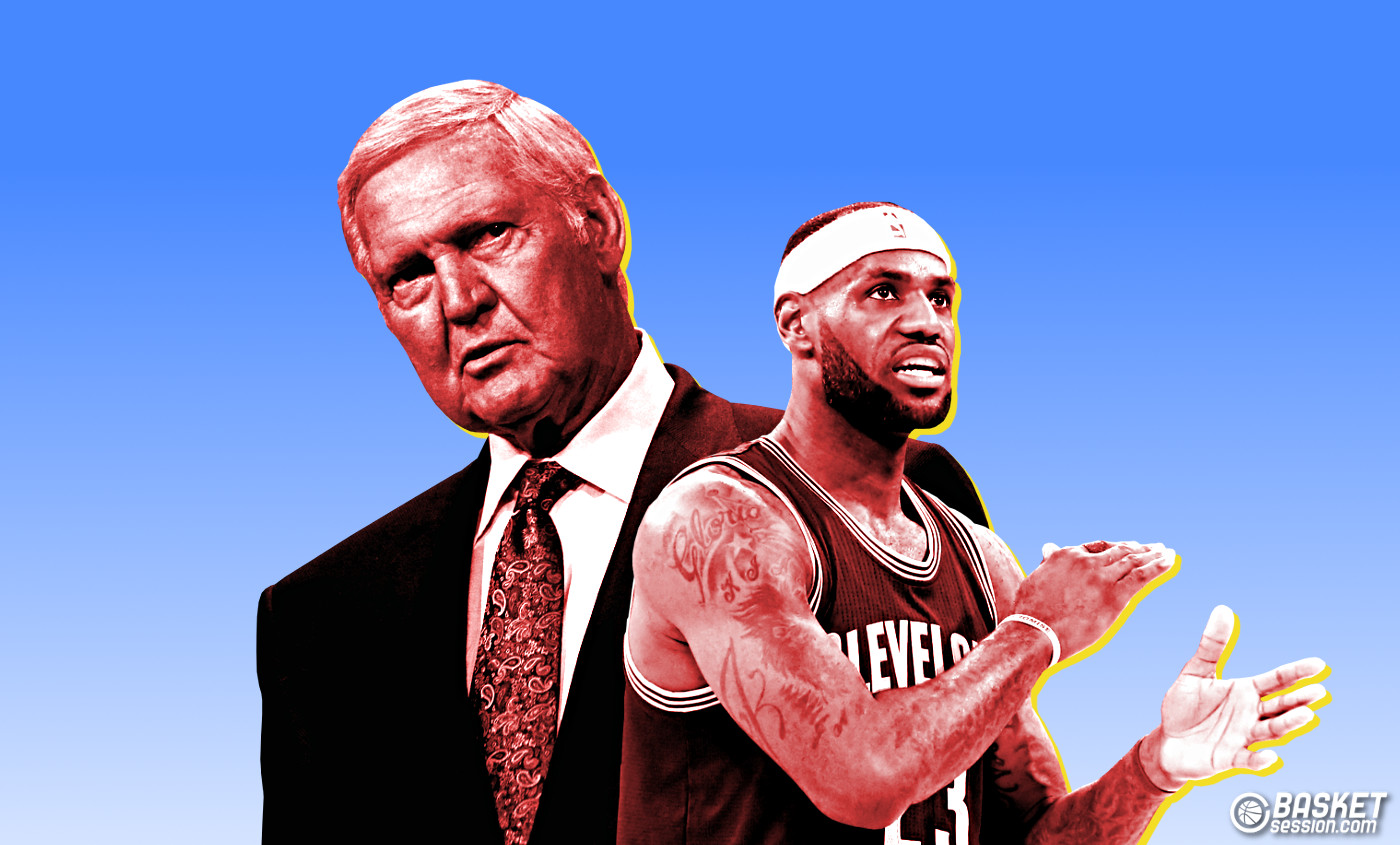 L'ultime mission de Jerry West : ramener LeBron James à LA