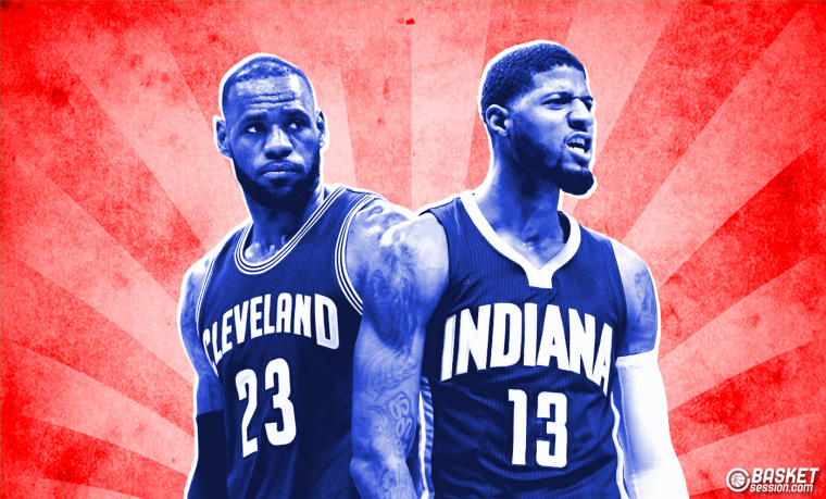 Pour battre les Warriors, LeBron James a besoin de Paul George
