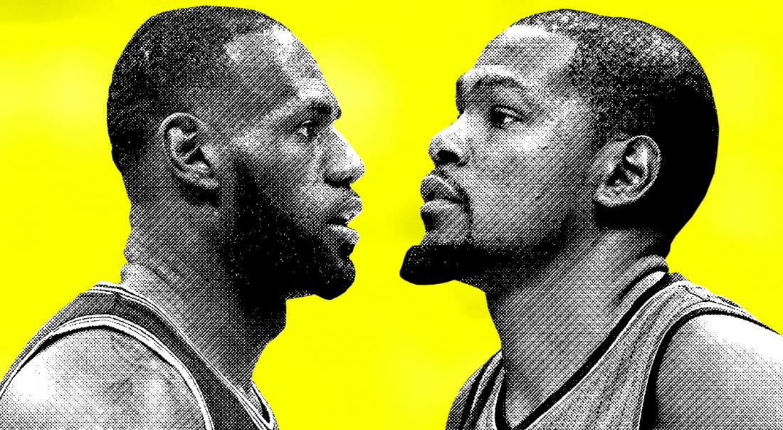 Kevin Durant a surclassé LeBron en 2017, même les Cavs le disent