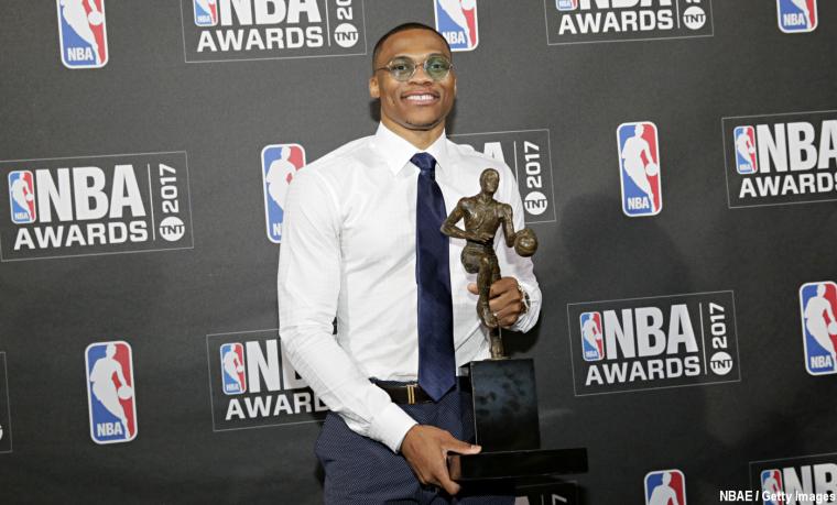 Westbrook beau MVP : Retour sur un «Awards Show» mitigé