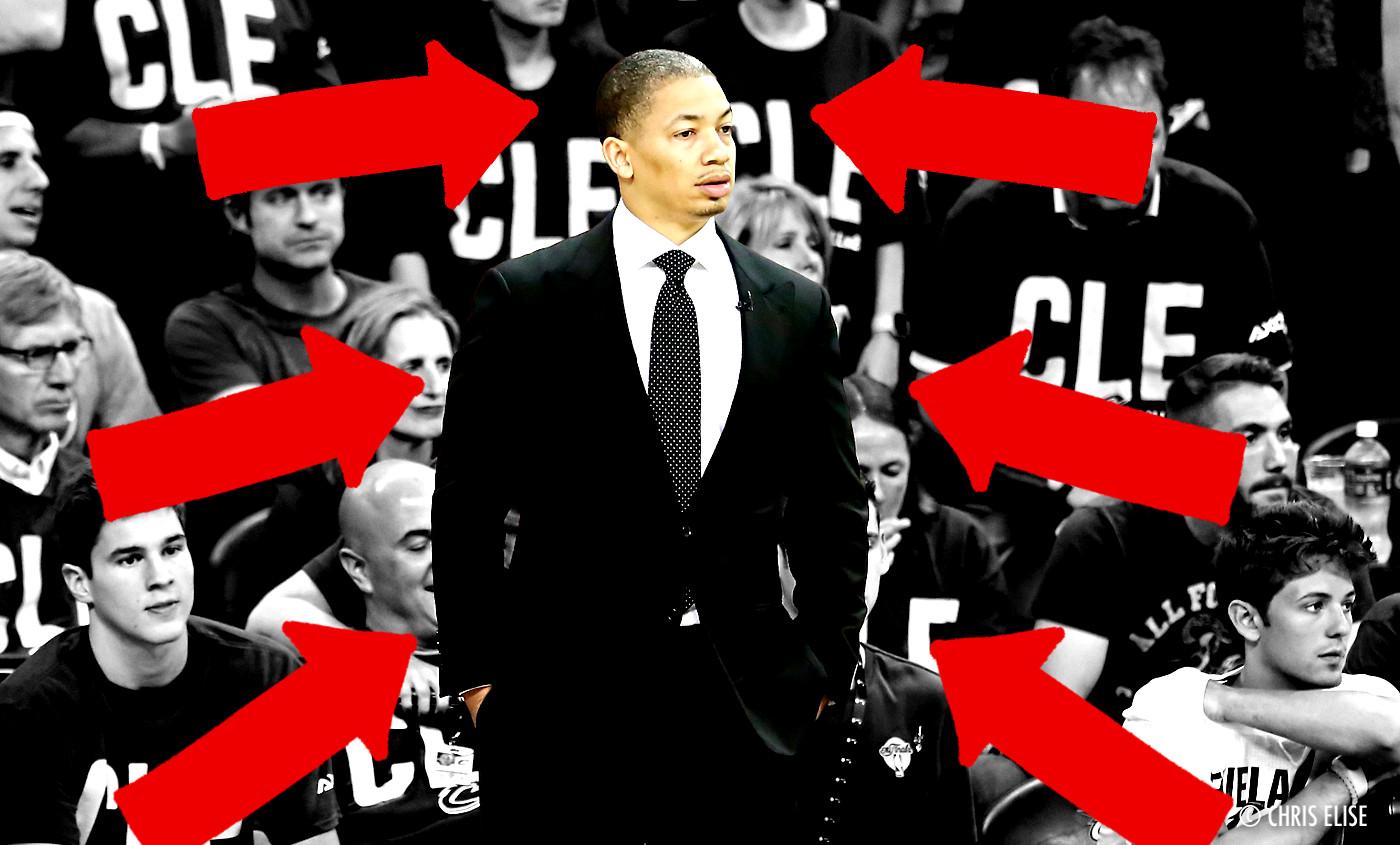 Tyronn Lue : «Ils disent déjà que c'est LeBron le coach…»