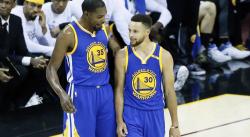 La vidéo qui prouve que le trio Curry-KD-Thompson était exceptionnel