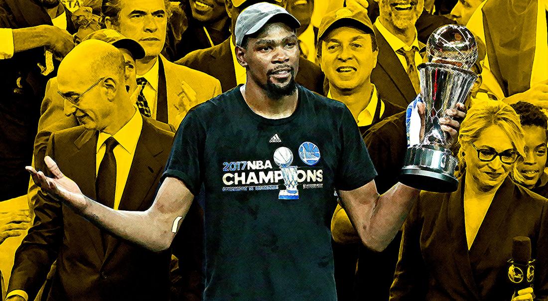 Kevin Durant : pari réussi pour un joueur XXL