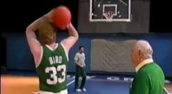 Larry Bird dévoile les secrets de son shoot légendaire