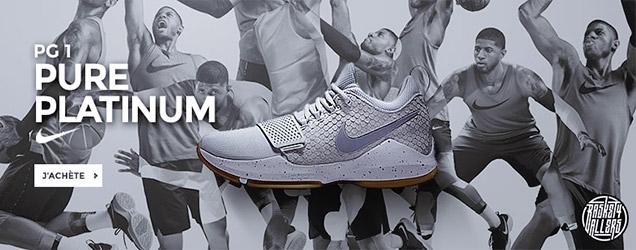 Nike PG1 pure platinum