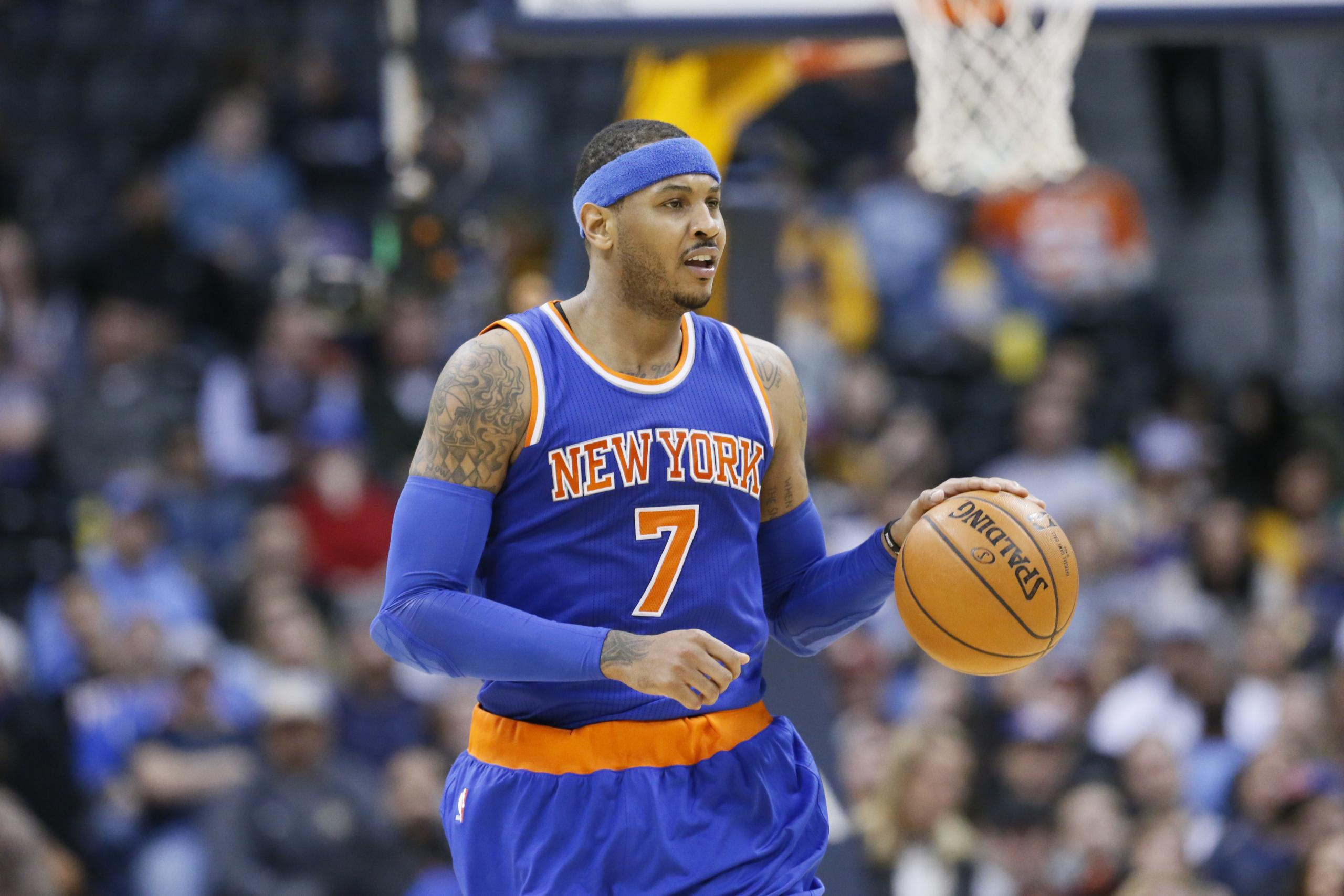 Carmelo Anthony va jouer ailier fort et ça va envoyer !