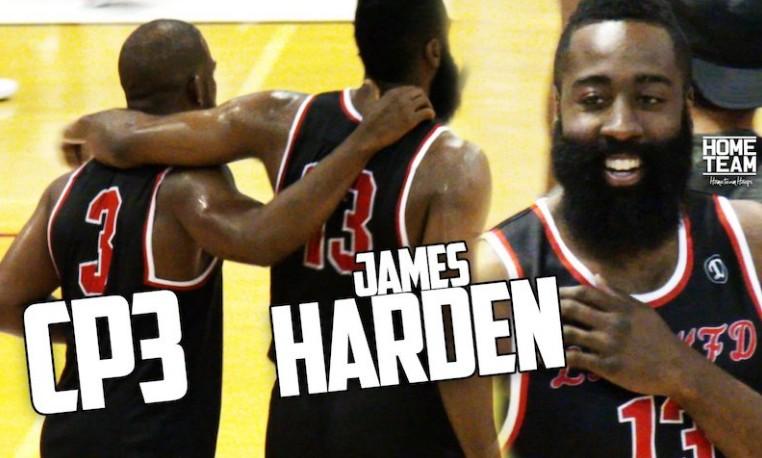 Drew League : James Harden et Chris Paul s'imposent, Westbrook absent