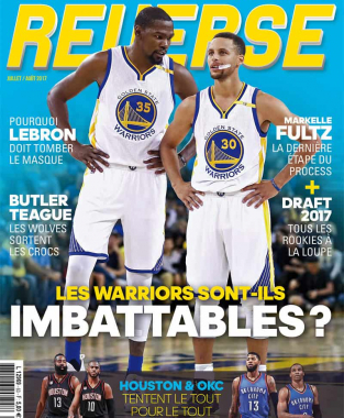 REVERSE 63 Warriors Kevin Durant