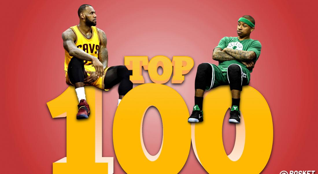 Top 100 : Les meilleurs joueurs NBA (30-21)