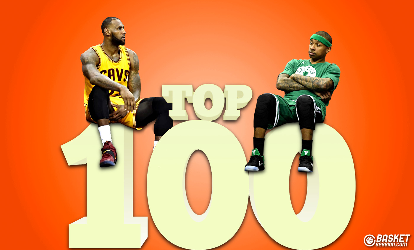 Le top 100 NBA de Basket Session est de retour !