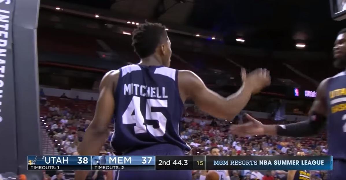 Summer League : Donovan Mitchell éblouissant, Jordan Bell sait tout faire