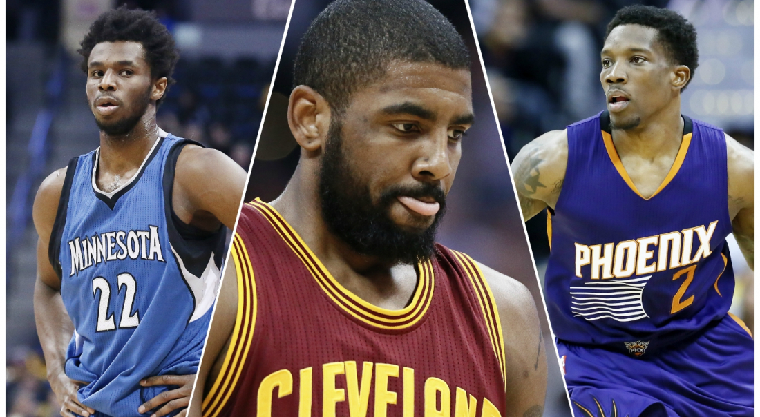 Les Wolves et les Suns à la lutte pour Kyrie Irving