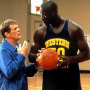 Shaquille O'Neal Nick Nolte Blue Chips