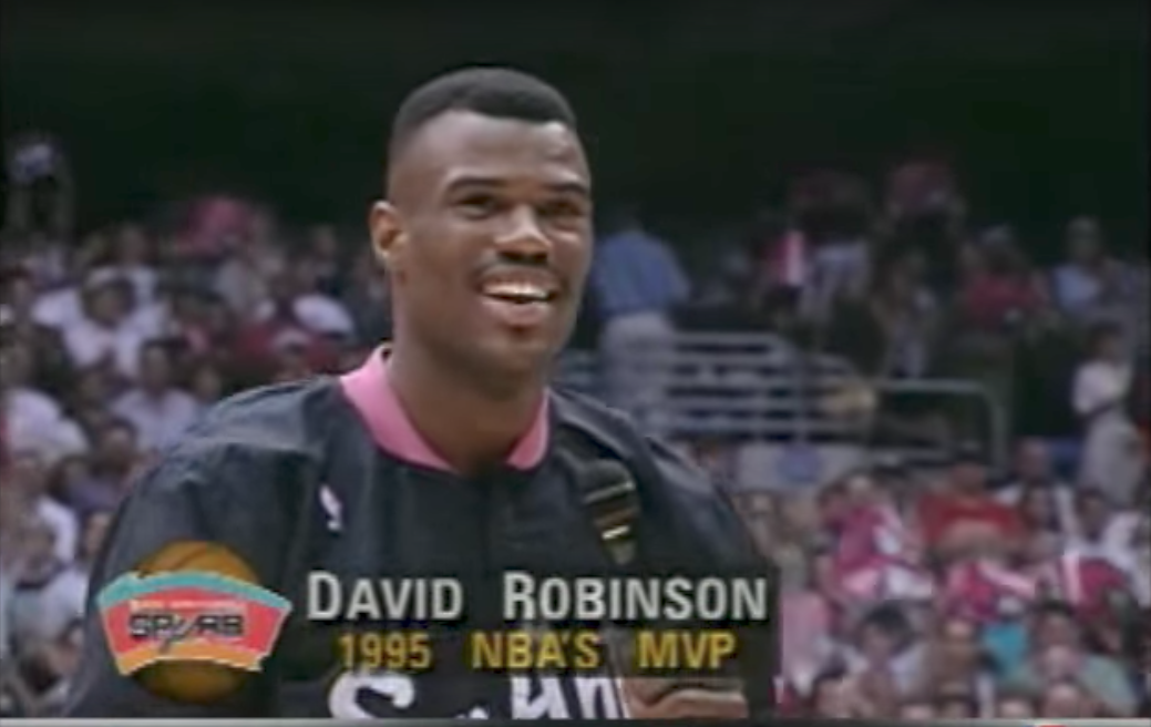 Mix : David Robinson, l'amiral légendaire des Spurs