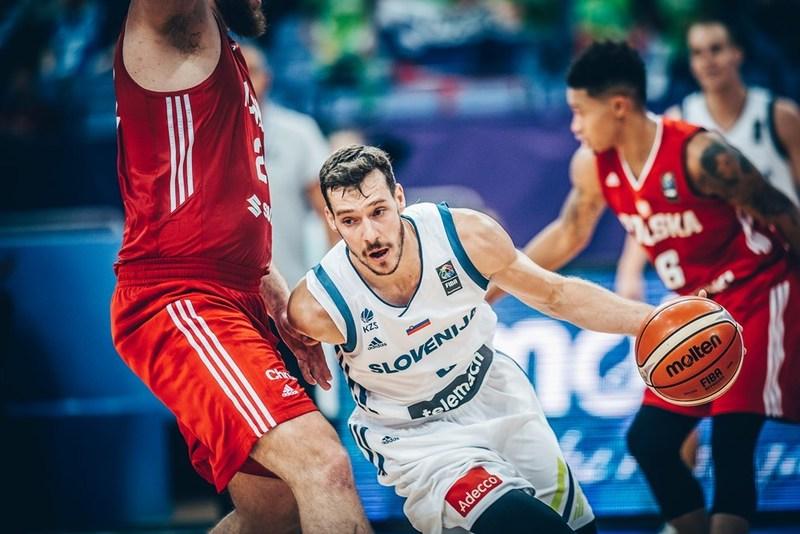 La Slovénie d'un énorme Goran Dragic bat la Pologne 90-81