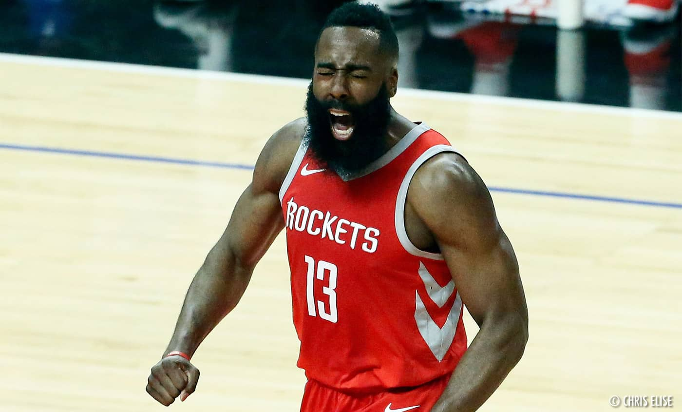 James Harden NBA Houston Rockets - Daryl Morey