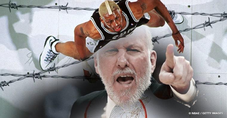 Dennis Rodman : «Popovich me détestait, pour lui j'étais le démon !»