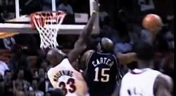Vince Carter, la légende du dunk
