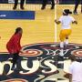 WNBA dance battle