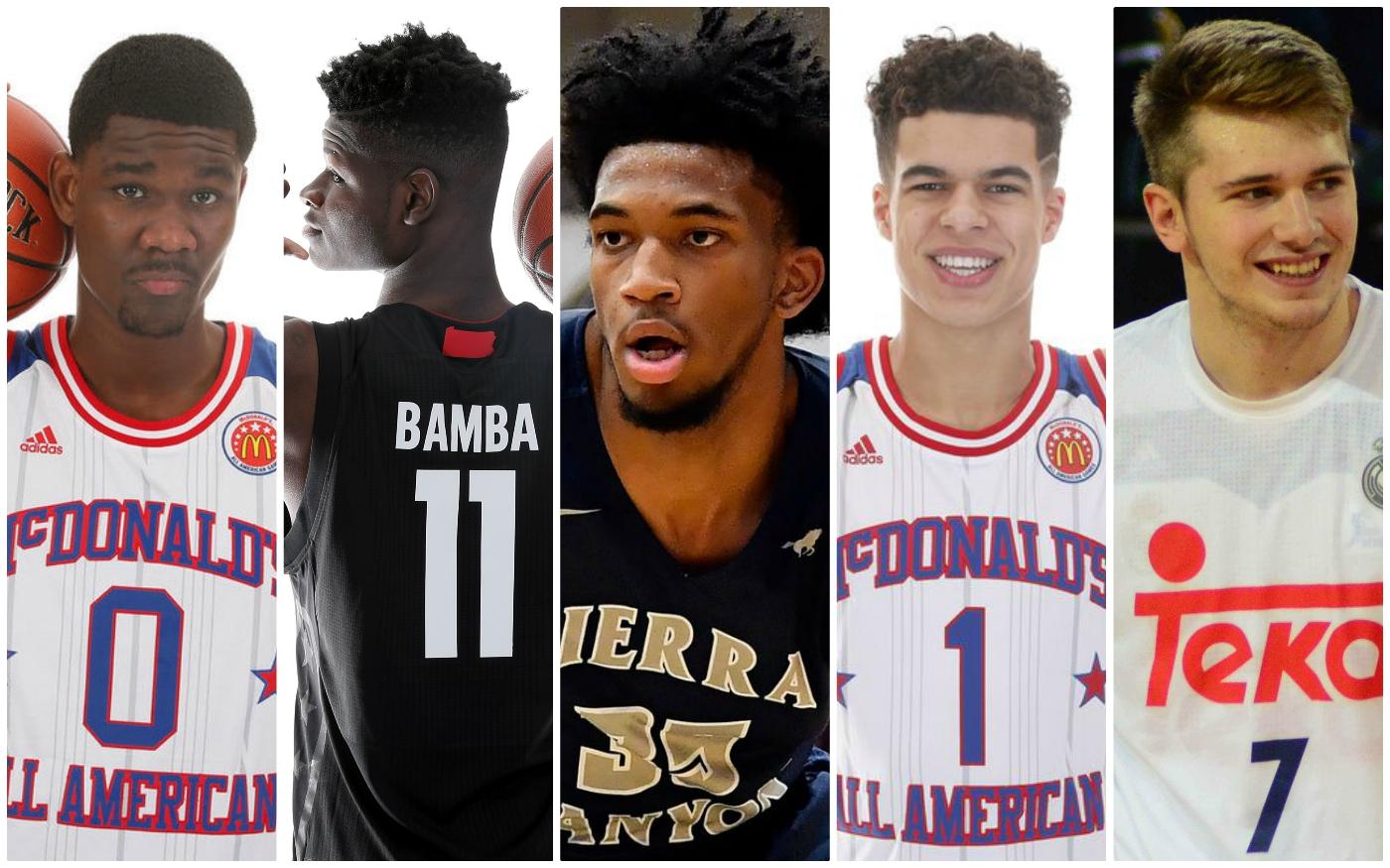 Les 5 talents capables d'être n°1 de la Draft 2018
