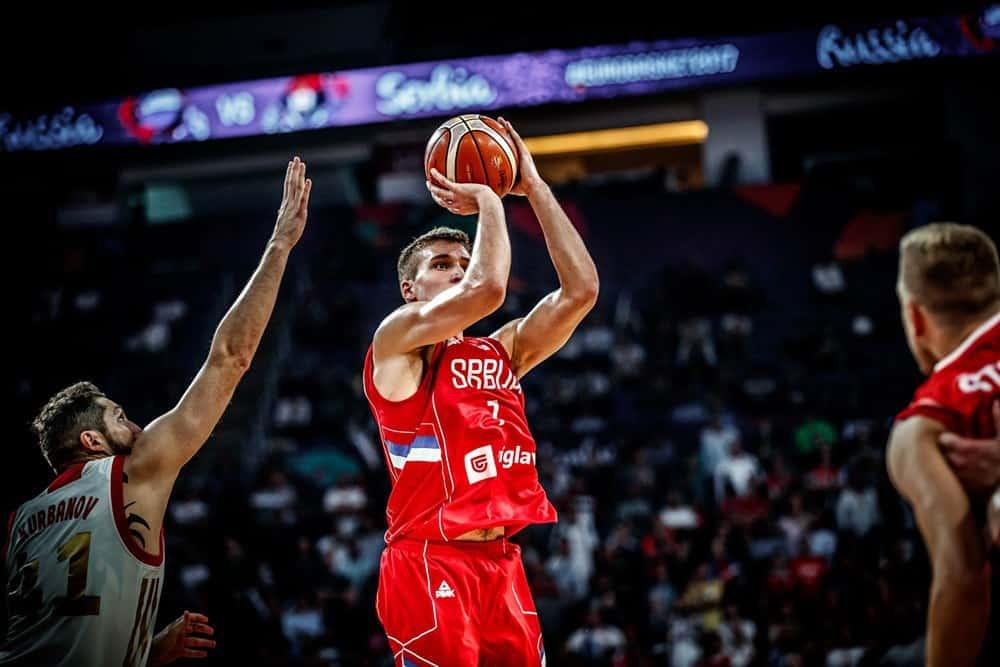Bogdanovic en mode patron, la Serbie en finale