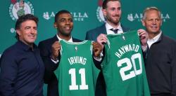 Kyrie Irving avait recruté Gordon Hayward aux Cavs avant que LeBron signe en 2014