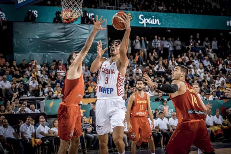 Gros match de basket : L'Espagne bat la Croatie à la fin